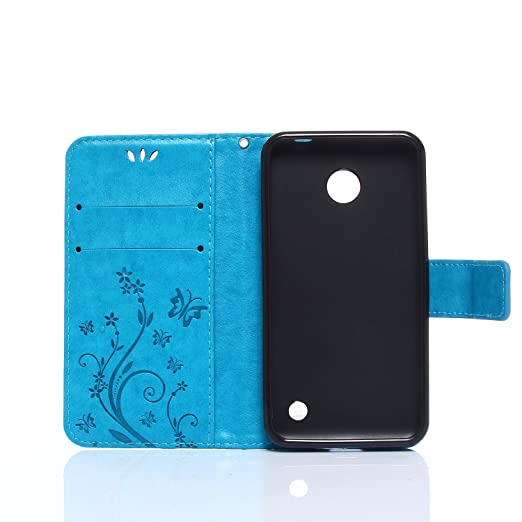 51 opinioni per ZeWoo Folio Custodia in PU Pelle- R149 / Classico blu- per Nokia Lumia 630