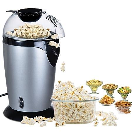 Maxed Aluminum Popcorn Machine(MXD-Aluminium-Popcorn-Maker, Grey) Popcorn Makers at amazon