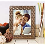 Art Street Decoralicious Brown Bar Table Photo Frame/Wall Hanging for Home Décor