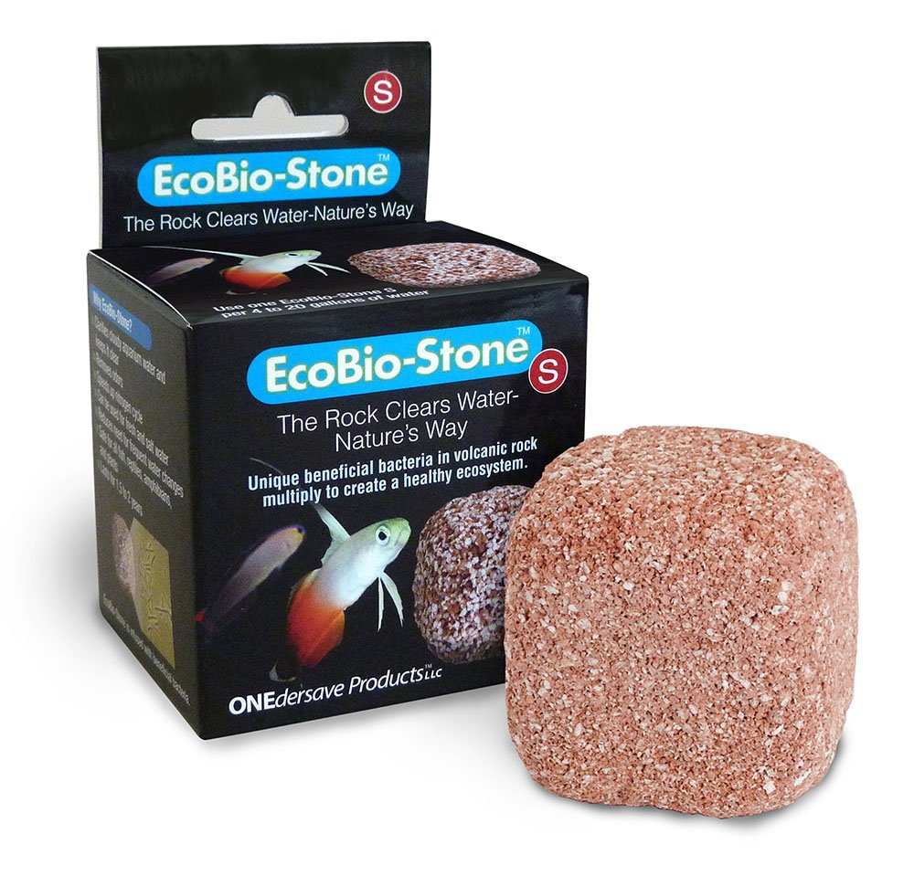how to get rid of cloudy fish tank water, eco bio stone
