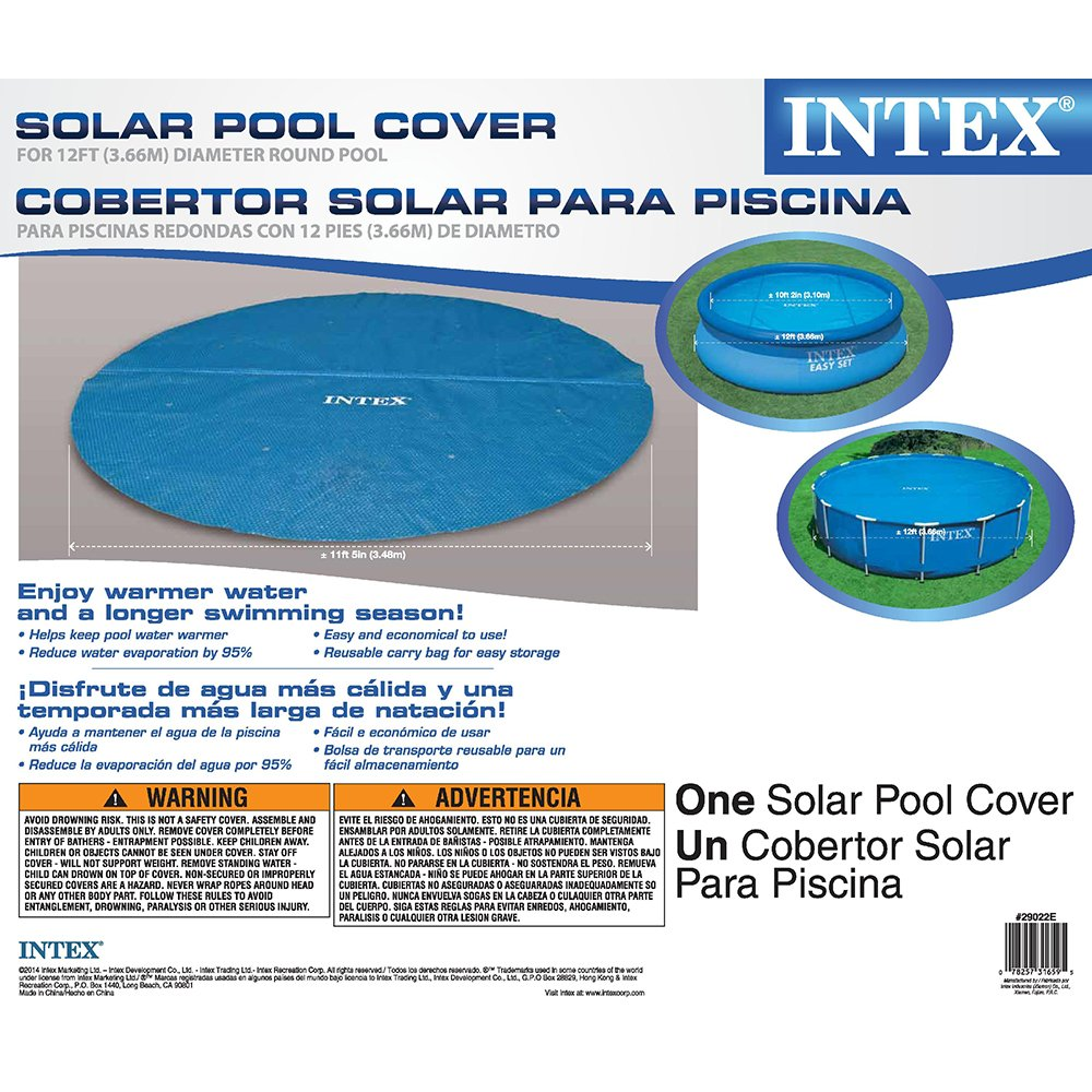 Swimming Pool Solar Cover Easy Set And Frame Pools Ebay