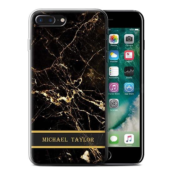 iphone 8 plus gel case initials