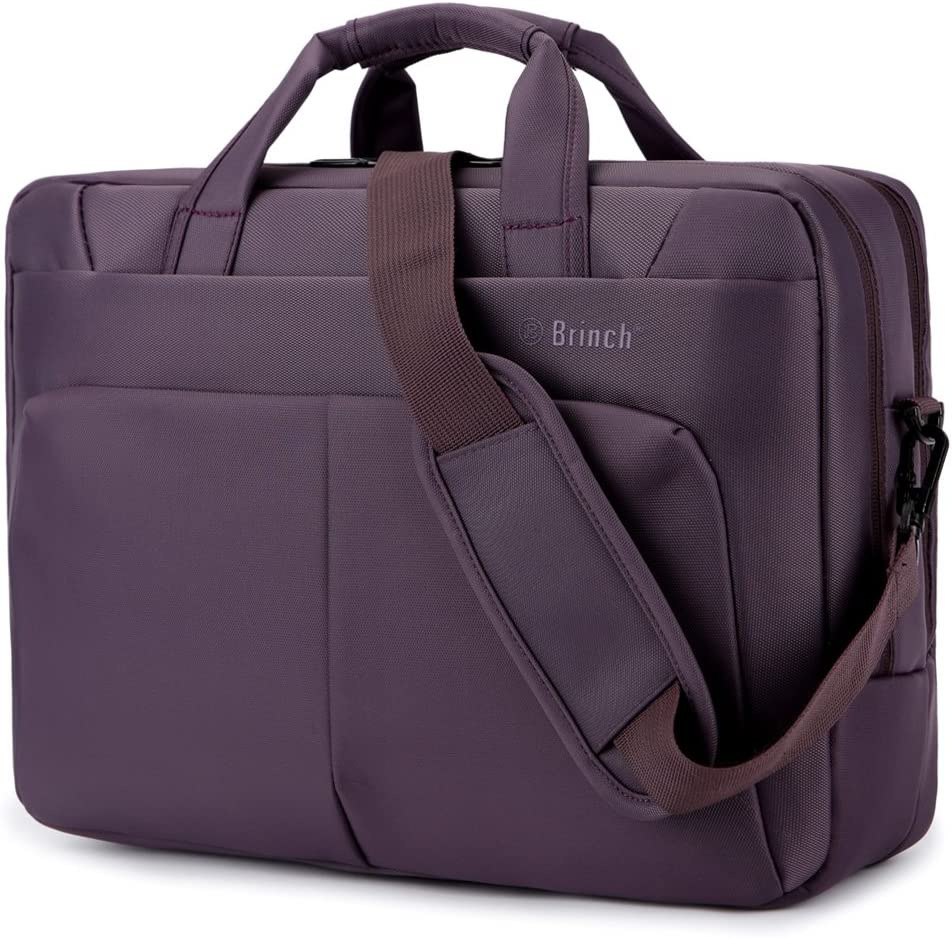Brinch Bolsa de Ordenador portátil, maletín 17.3 de la