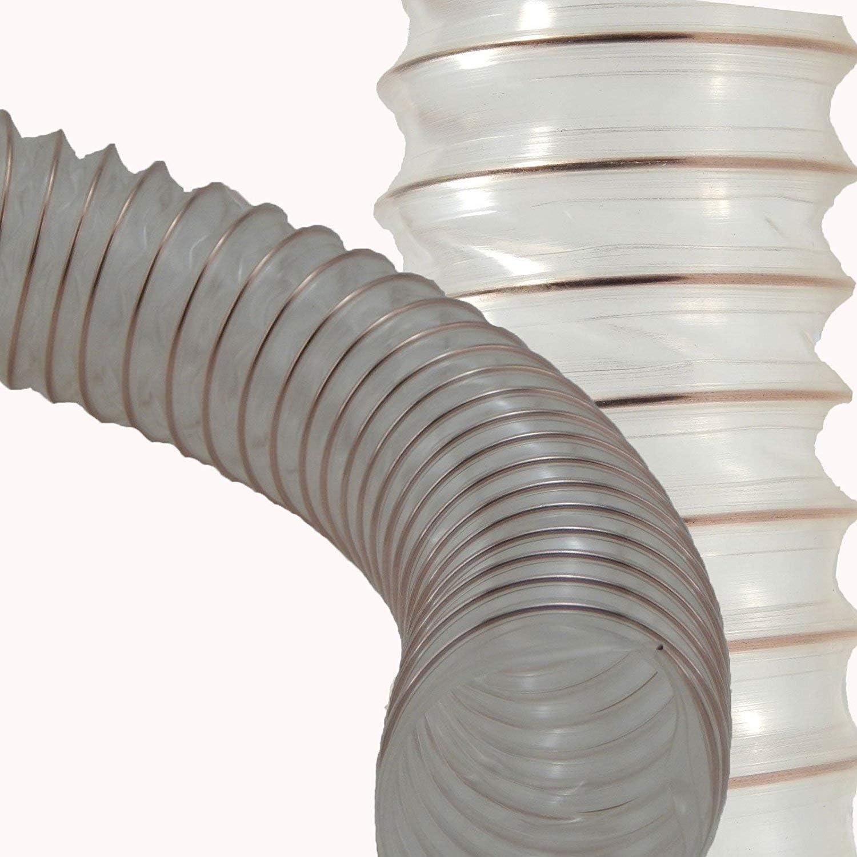 Tuyau en Caoutchouc Silicone Tuyau Tuyau Industrie Ø 105 mm Spiralschlauch Tuyau
