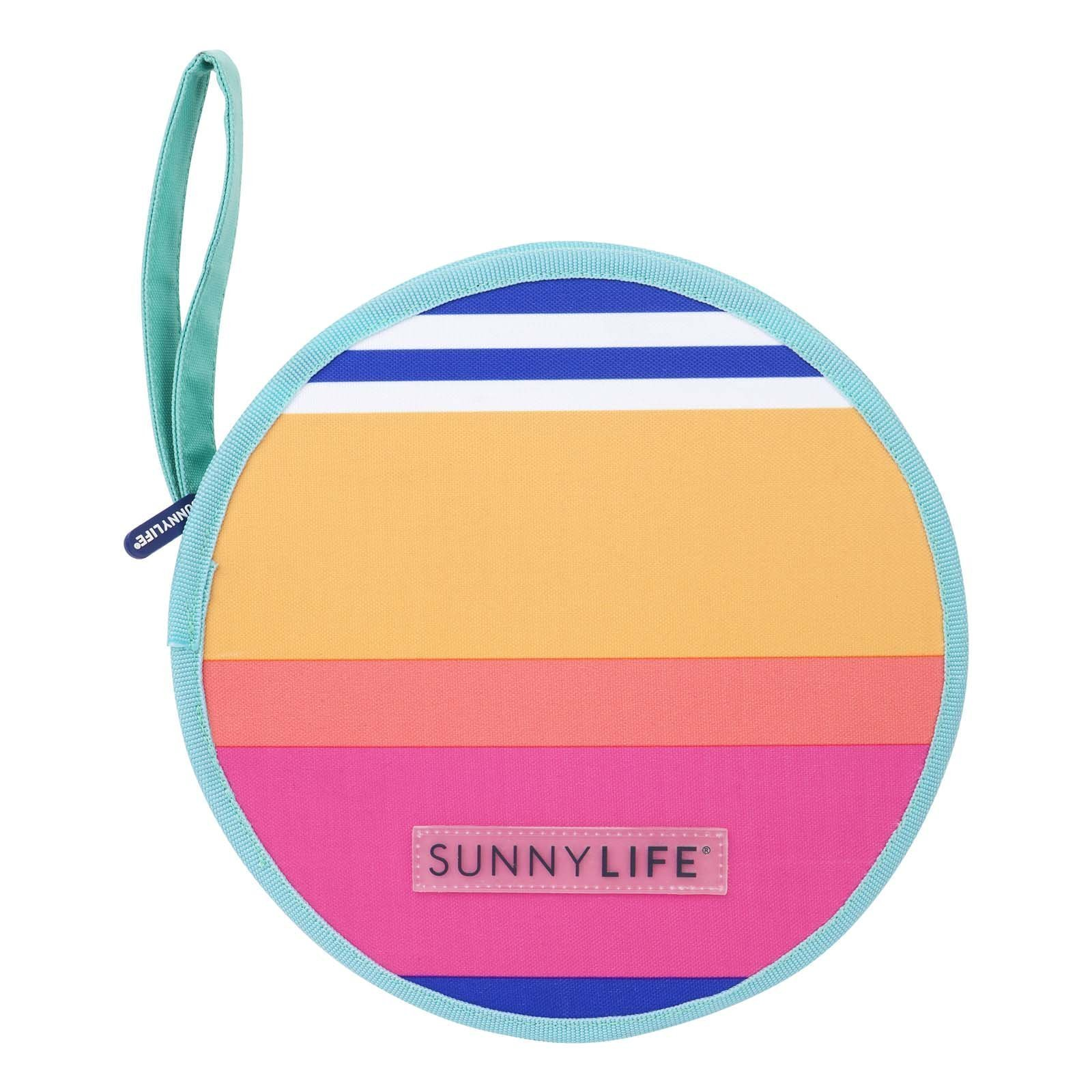 Sunnylife Lovers Picnic Kit with Cutlery and Plate Set for 2 - Catalina Multi