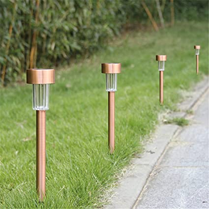 led pathway lights. Winchance Solar LED Pathway Lights Stainless Steel Stake Waterproof For Outdoor Garden Lawn Patio Led