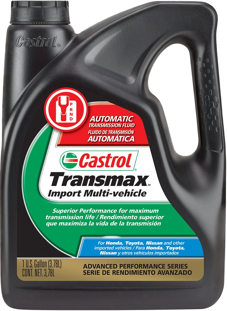 Castrol 03521 Transmax Import Multi-Vehicle Automatic Transmission Fluid - 1 Gallon, (Pack of 3)