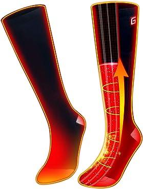 GLOBAL VASION Rechargeable Battery Heated Socks Kit