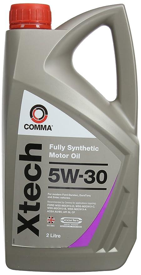 Comma XTC2L XTech - Aceite sintético de motores de turismos (5 l, 5W-