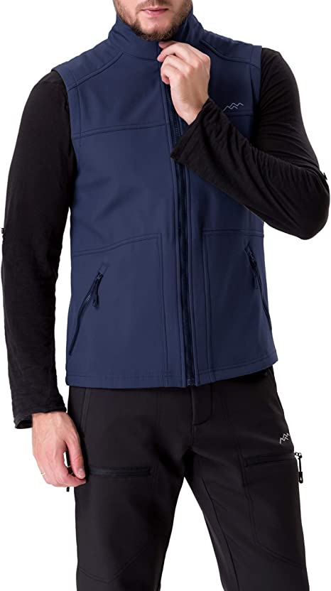 TRAILSIDE SUPPLY CO Mens Travel Jacket with Hooded Full-Zip Outwear