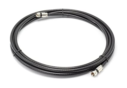 THE CIMPLE CO 15 Feet, Black RG6 Coaxial Cable (Coax Cable) |