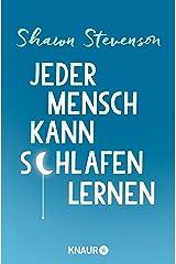 Jeder Mensch kann schlafen lernen (German Edition) Kindle Edition