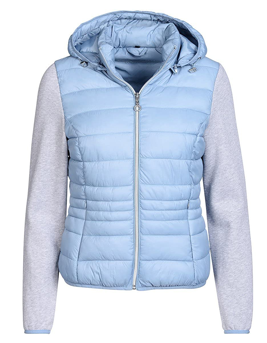 Bexleys woman by Adler Mode Damen Steppjacke mit Jerseyärmel
