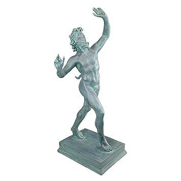 Design Toscano Dancing Faunus of Pompeii - Grande: Amazon.co.uk ...