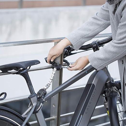 MASTER LOCK Antirrobo Bloqueo [Acero Reforzado Laminado] [55cm] 8290EURDPRO - Candado de Bicicleta, Patinete Electrico, Carros Bebe: Amazon.es: Deportes y aire libre
