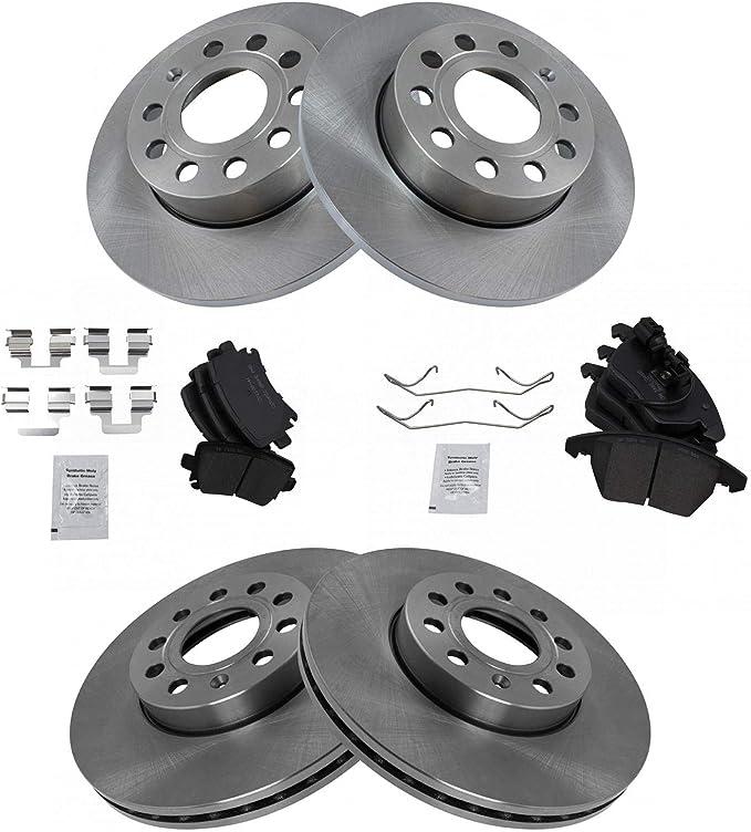 OE Replacement Rotors w//Ceramic Pads F 1999 VW Jetta See Desc.