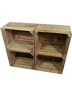 x masivas cajas de madera usados cajas de vino para muebles