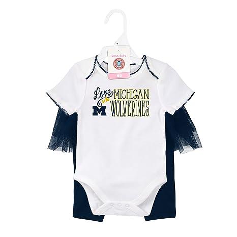 d1a6561dc08375 NCAA by Outerstuff NCAA Michigan Wolverines Newborn  quot Footbal  Dancer quot  Tutu Legging Set