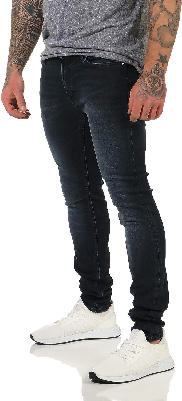 JACK /& JONES Skinny Jeans Stretch Denim Herren Hose