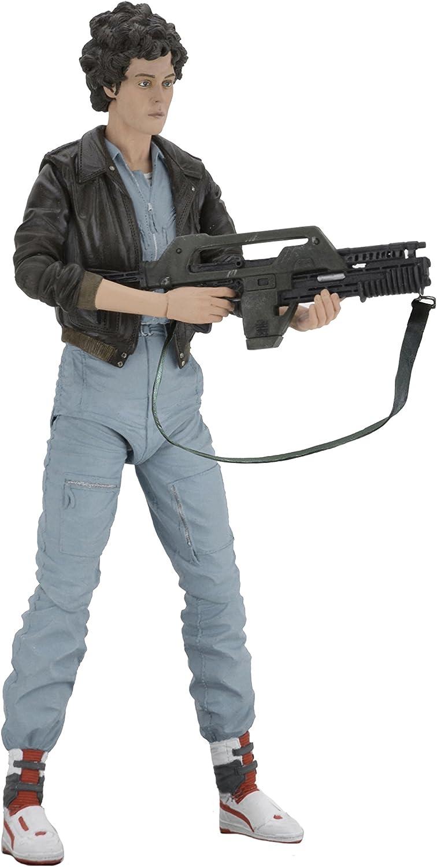 NECA Aliens Kenner Vintage Throwback Lt Ellen Ripley w// Flamethrower MOSC New