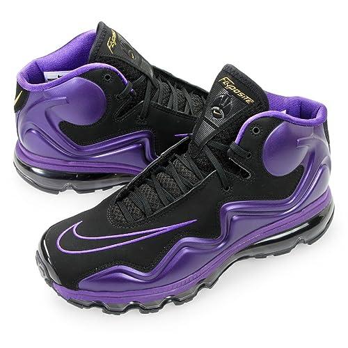 7e3db0f3d0af Nike Air Max Flyposite Mens Cross Training Shoes Black Black Clb Purple Mds  Gld 9 D(M) US  Amazon.in  Shoes   Handbags