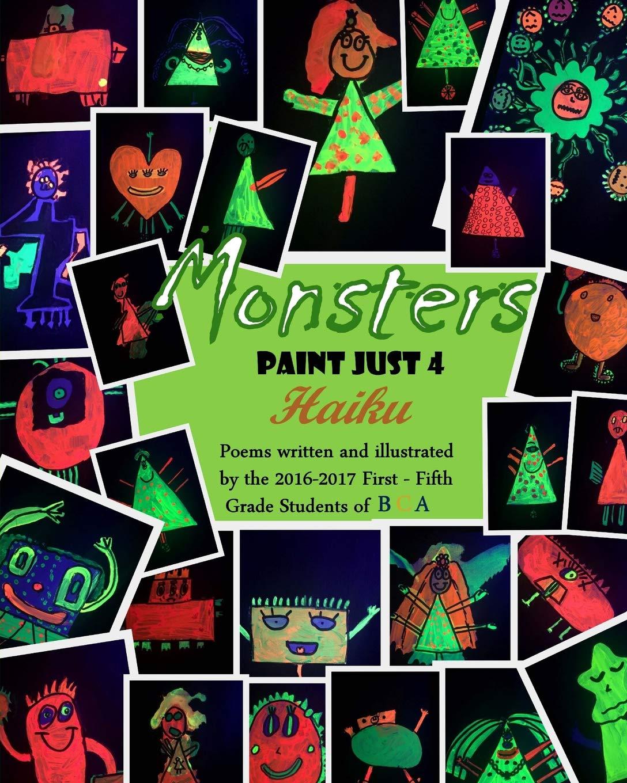 Download Monsters Paint Just 4 Haiku pdf