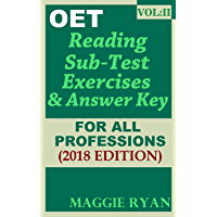 OET Reading For All-Professions by Maggie Ryan: Book: VOL. 2 (OET Reading Books by Maggie Ryan) (English Edition)