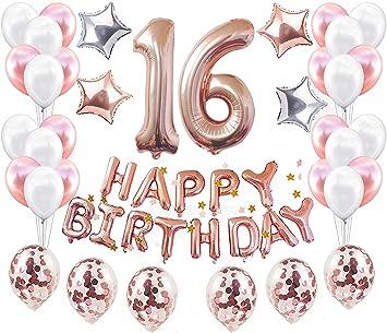 JeVenis 37 Pi/èces 30 D/écorations 30 anniversaire D/écorations pour la f/ête du 30 anniversaire Ballon
