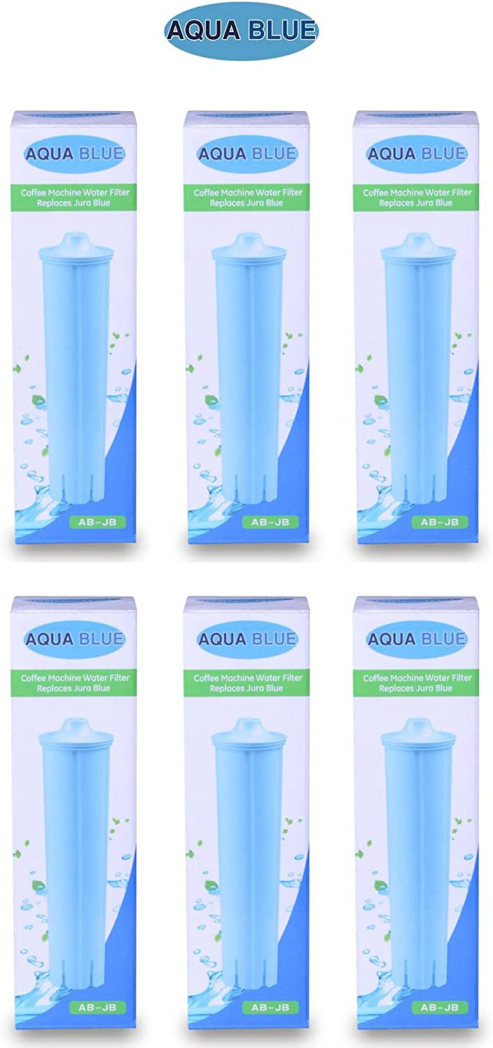 Jura Capresso Clearyl Blue Compatible Water Filter Cartridge Part 71455 NSF Certified 6-PACK 71zCsP7TSVL