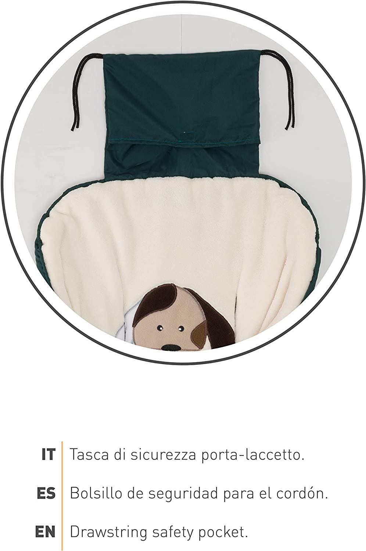 Impermeable a Prueba de Viento Mantiene los Bebes C/álidos hasta -13/° Nuvita 9605 Junior Cuccioli Desde 6-36 Meses Saco Carrito Bebe Universal 100cm x 45cm T/érmico