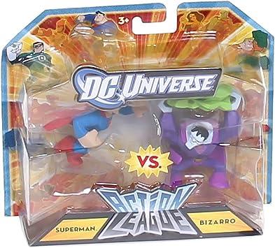 DC Universe 2.25 inch Mini Action League 2-Pack: Amazon.es ...