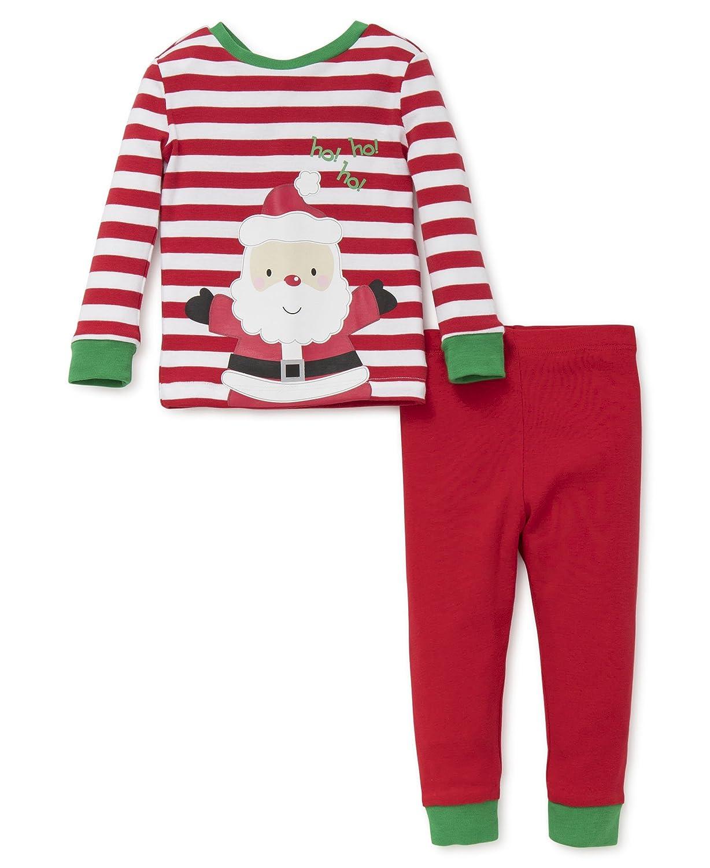 Amazon.com: Little Me Baby Holiday 2 Piece Pajama Set: Clothing