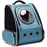 HUO ZAO Cat Carrier Backpacks, Space Capsule Bubble Pet Carrier Backpack for Small Dog