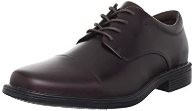 Rockport Men's Ellingwood Oxford-Oxblood-8 XW