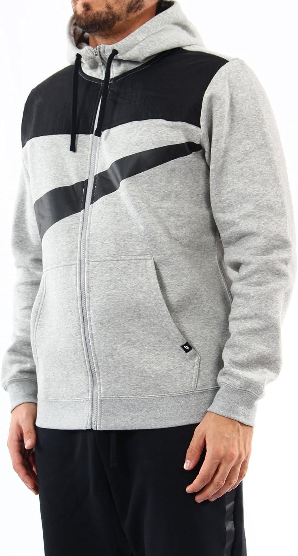 nike Fleece Hybrid Full Zip Hoodie 861712 063 large