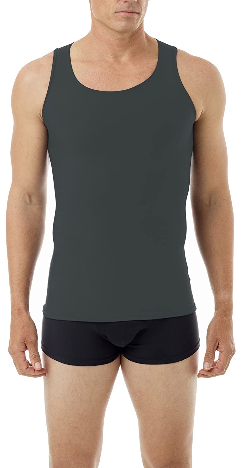 Underworks Mens Microfiber Performance Compression Tank 3-Pack 473 3-Pack