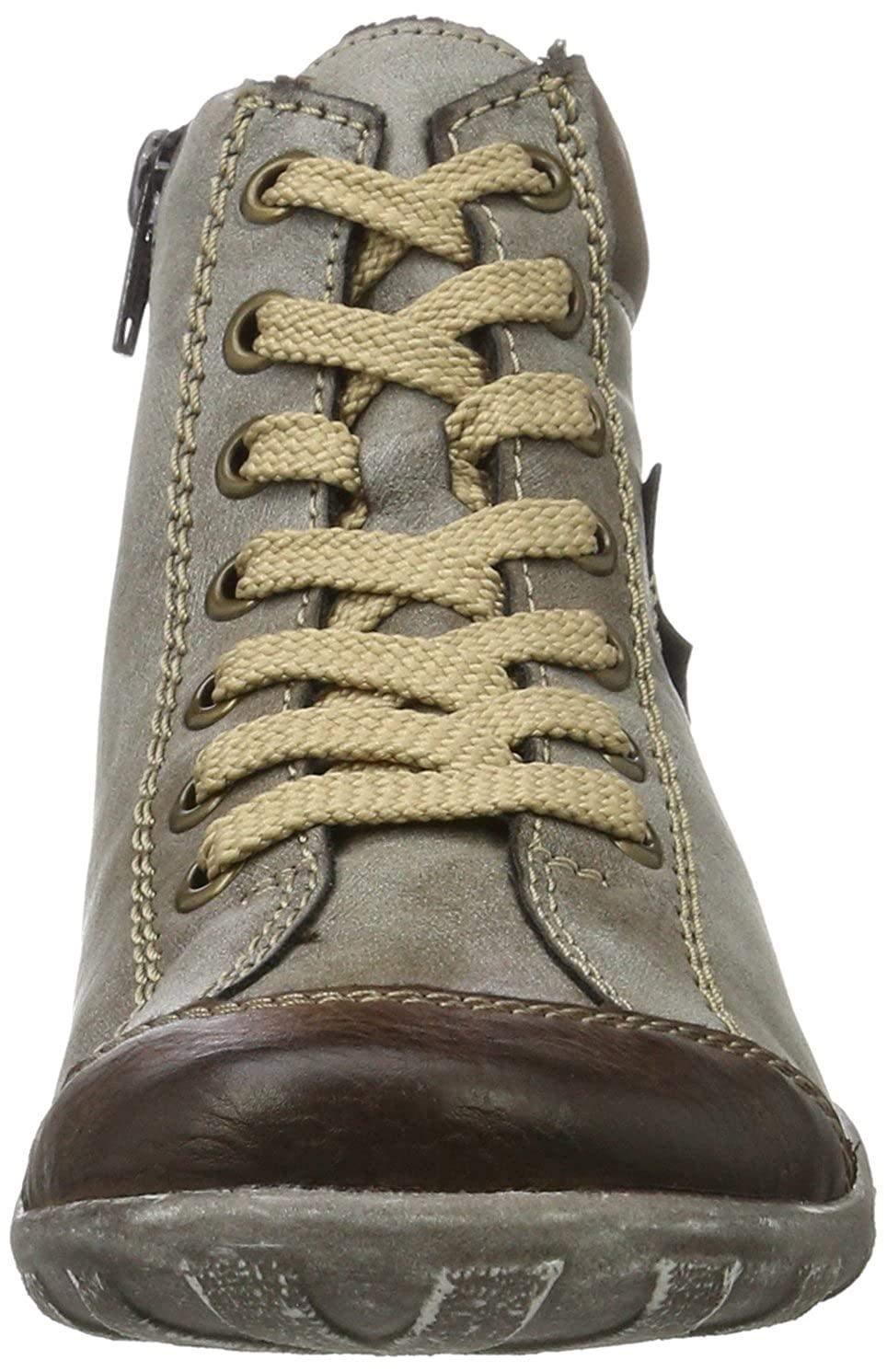 Rieker Women/'s L6540 Hi-Top Trainers