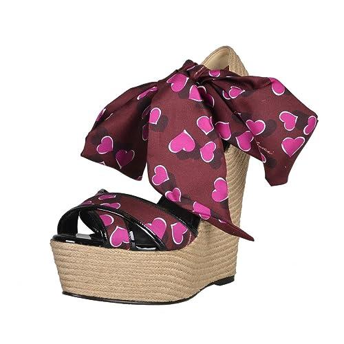 d487cfe8e3b0b Gucci Women's Platform Wedges Ankle Strap Sandals Shoes US 10 IT 40 ...