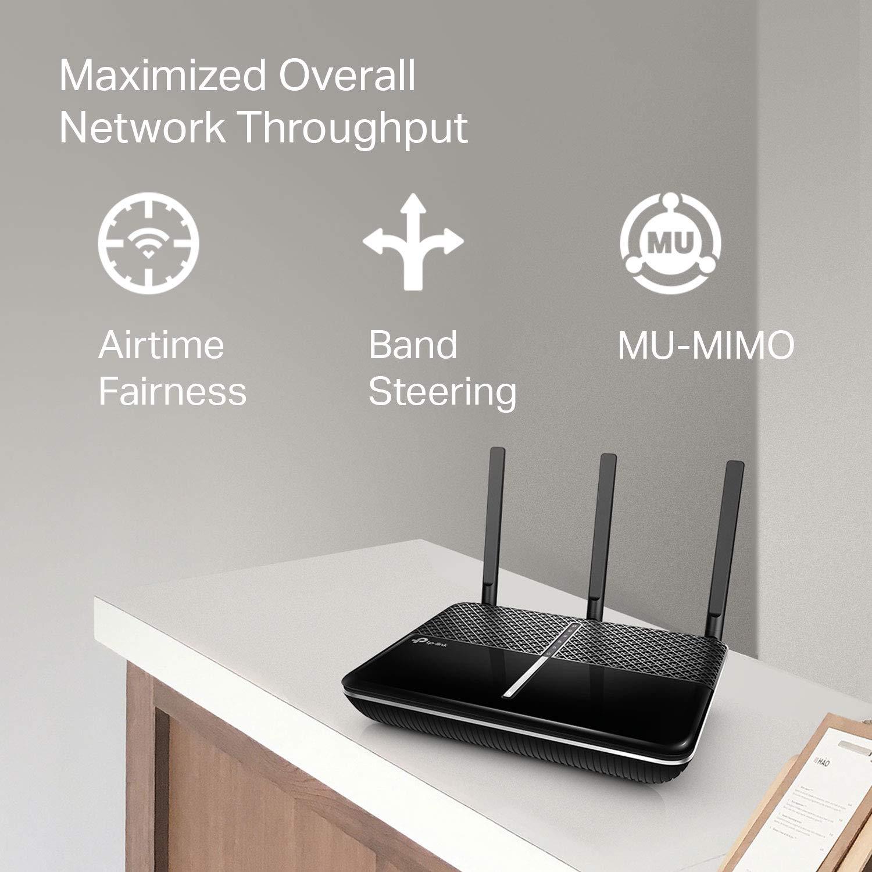 Amazon.com: TP-Link AC2600 Router WiFi inteligente de doble ...