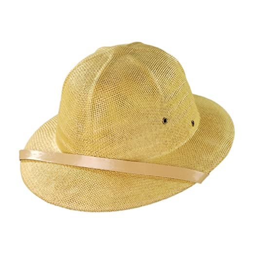 Village Hat Shop Toyo Straw Pith Helmet (Tan) at Amazon Men s Clothing  store  269a3b8719e