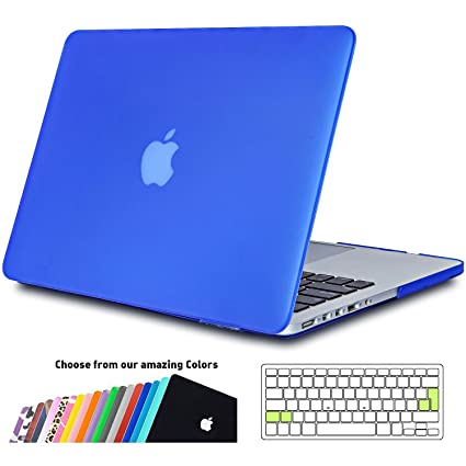 iNeseon Funda MacBook Pro 13 Retina, Ultra Delgado Carcasa Dura Case con Cubierta del Teclado Transparente EU Layout para Apple MacBook Pro 13.3 ...