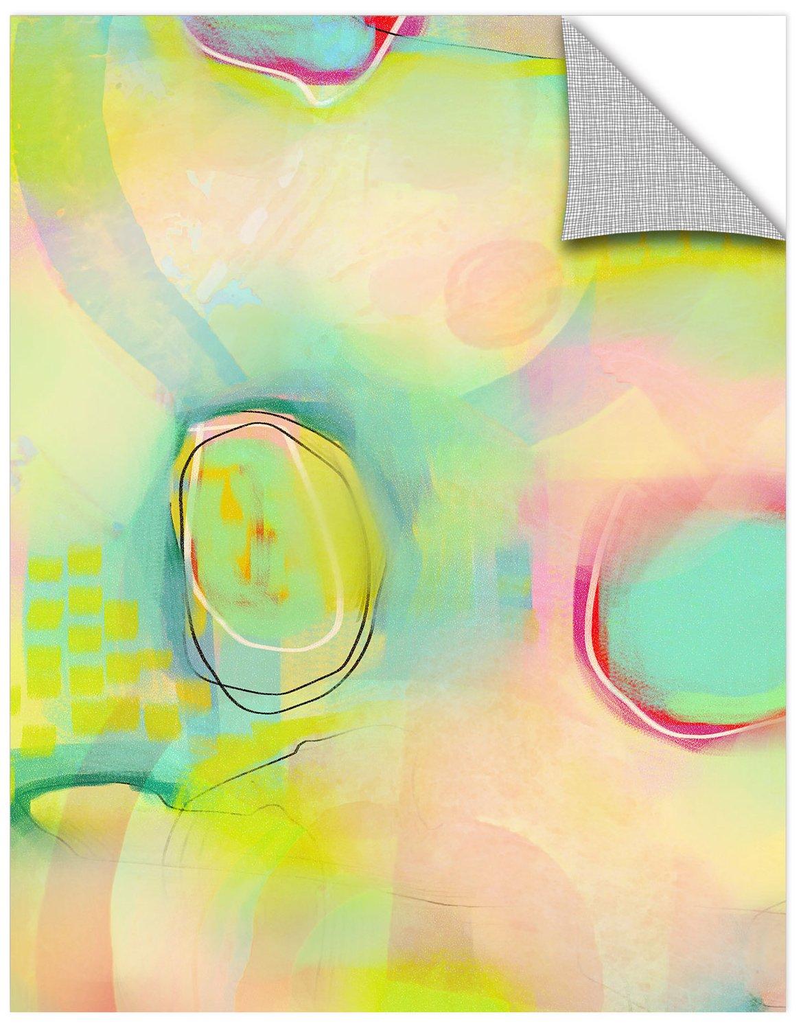 Delores Orridge Naskrent Flower Garden Gallery Wrapped Canvas 18X24