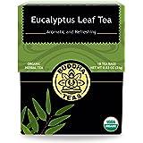 Organic Eucalyptus Tea - Kosher, Caffeine-Free, GMO-Free - 18 Bleach-Free Tea Bags