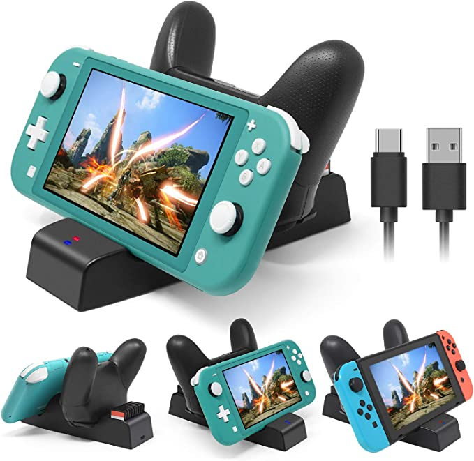 Soporte de Carga para Nintendo Switch Lite y Nintendo Switch ...