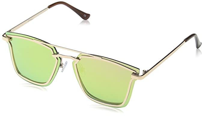 f0fe0ef189 Image Unavailable. Image not available for. Colour  Jeepers Peepers  Unisex s JPAW018 Sunglasses Gold 50