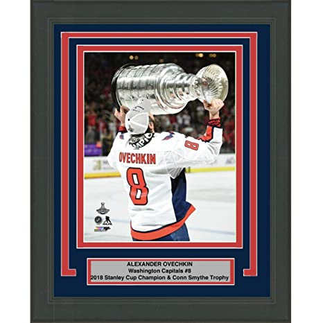 Image Unavailable. Image not available for. Color  Framed Alexander Alex  Ovechkin Washington Capitals Team 2018 Stanley Cup Champions ... b8944264f