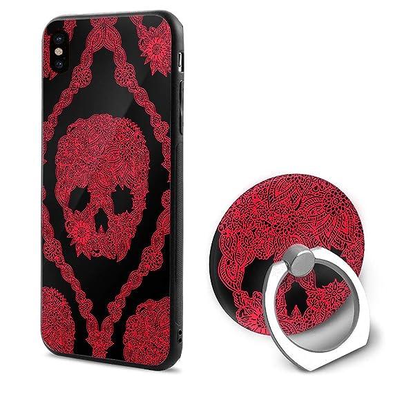 Amazoncom Skull Wallpaper Iphone X Mobile Phone Case 360