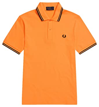 fa863d95d Image Unavailable. Image not available for. Color  Fred Perry M12 Twin  Tipped Made in England Polo ...