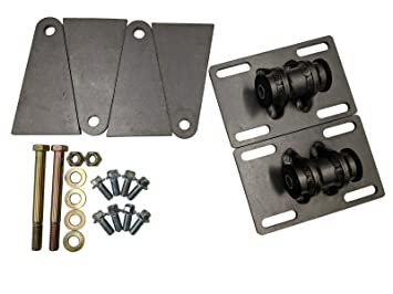 ST13 LS Swap Mounts Universal Adjustable Weldable Cut To Fit