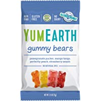 YumEarth Gummy Bears, Assorted Flavors, 2.5 Oz Bag
